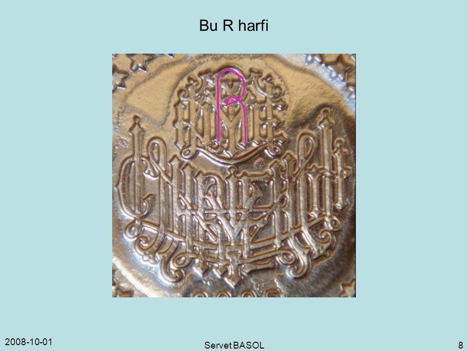 2008-10-01 Servet BASOL 8 Bu R harfi