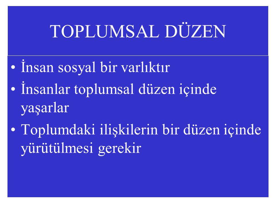 ANAYASA Osmanlı Devletinde ilk yazılı Anayasası 23 Aralık l876 kabul edilmiştir. Kanun-u Esasiye 20 Ocak l921 Anayasası Teşkilat-ı Esasiye 20 Nisan 1924 Anayasası 9 Temmuz 1961 Anayasası Temel Hak ve Ödevler 7 Kasım 1982 Anayasası yürürlüktedir.