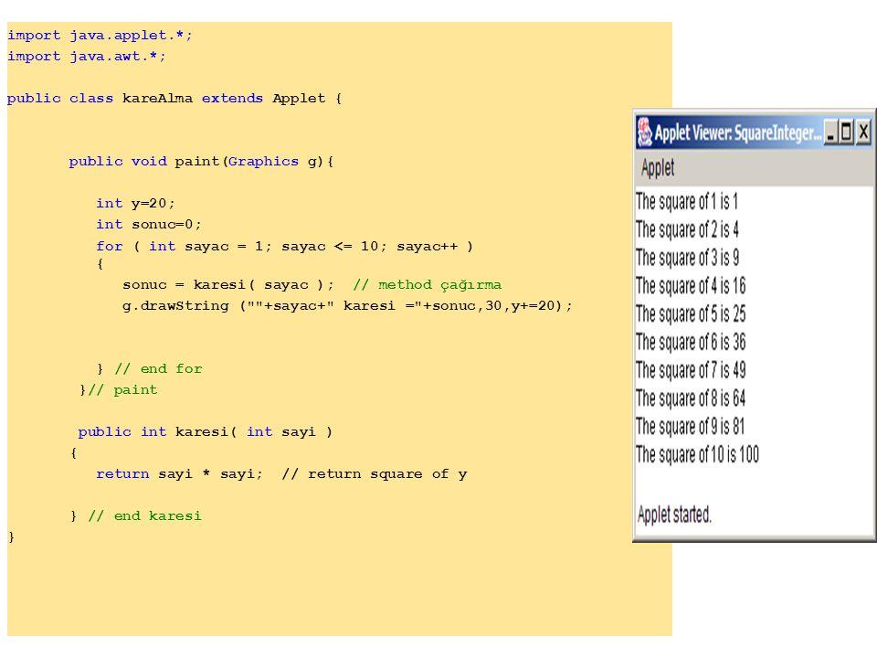 26 JOptionPane.showMessageDialog( null, output, 27 20 Random Numbers from 1 to 6 , 28 JOptionPane.INFORMATION_MESSAGE ); 29 30 System.exit( 0 ); // terminate application 31 32 } // end main 33 34 } // end class RandomIntegers