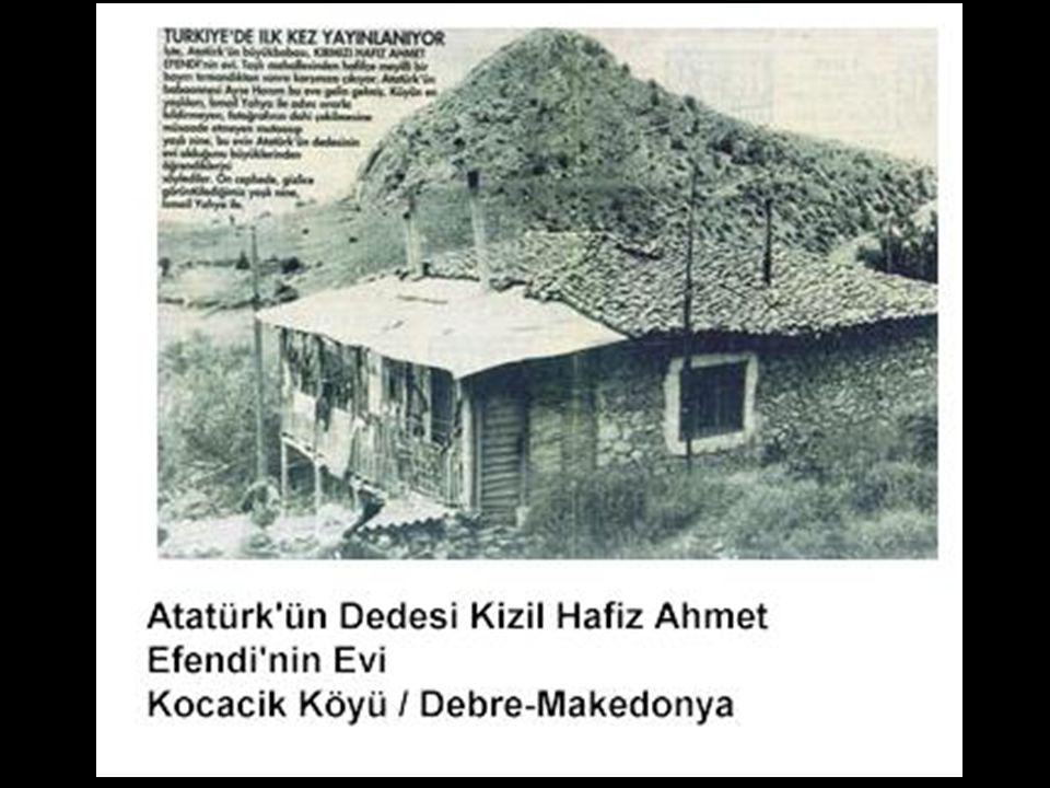 Mustafa Kemal Atatürk'ün anne soyu da, Konya/Karaman'dan gelerek Selanik ile Manastır'ın arasında bulunan Vodina Sancağı'na bağlı