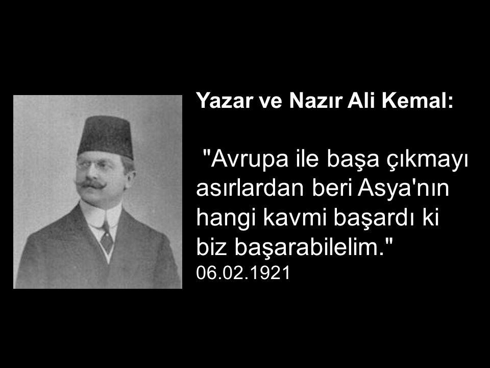 İngiliz Muhipler Derneği Başkanı, Adliye Nezareti Müsteşarı ve yazar Sait Molla : İngiliz mandası istediğinizi bütün itilaf temsilcilerine, hükümete ve gazetelere bildiriniz.. 23.05.1919, Belediyelere genelgeden..