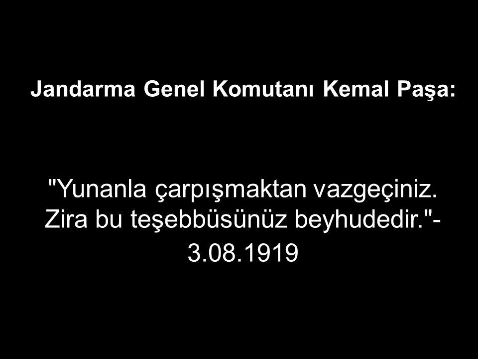Yazar Refi Cevat Ulunay: Yunanistan kısa zamanda Mustafa Kemal kuvvetleri denen çapulcuları tamamen tepeleyecektir. - 08.09.1920 Anadolu ile değil, Yunanistan ile anlaşmalıyız. - 15.10.1920