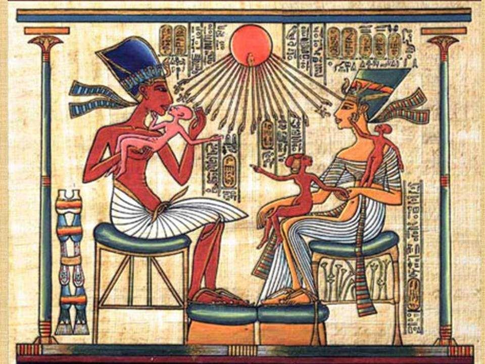 Amon rahipleri bana çok kızdılar. Her yerde beni karalamaya başladılar. Bana ''Sapkın Firavun'' dediler. Onlar Aton'un adını anmak yerine, ona ''Zentu