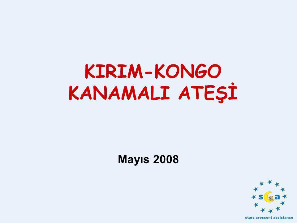 KIRIM-KONGO KANAMALI ATEŞİ Mayıs 2008