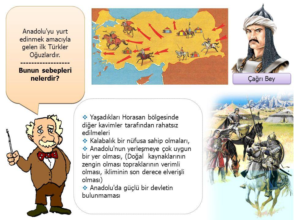 Büyük Selçuklu Devleti henüz kurulmadan önce Çağrı Bey önderliğinde Azerbaycan üzerinden Anadolu'ya akınlar gerçekleştirilmiştir.