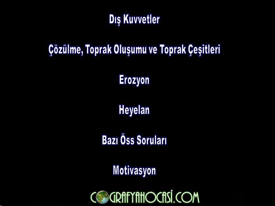Türkiye'nin aşağıdaki özelliklerinden hangisi, engebeli ve yüksek olmasının bir sonucu değildir .