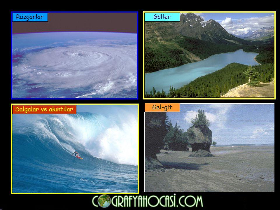 Çözülme ve Toprak Oluşumu Kayaların havadaki gazlar, su, sıcaklık farkı ve canlıların etkisiyle dağılıp ufalanmasına çözülme denir.