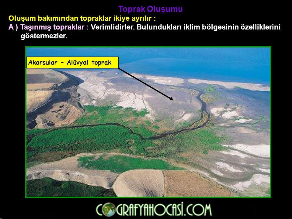 Erozyon Bitki örtüsünce fakir, eğimli yamaçlardaki toprak örtüsünün akarsular ve sel suları ile aşındırılmasına denir.