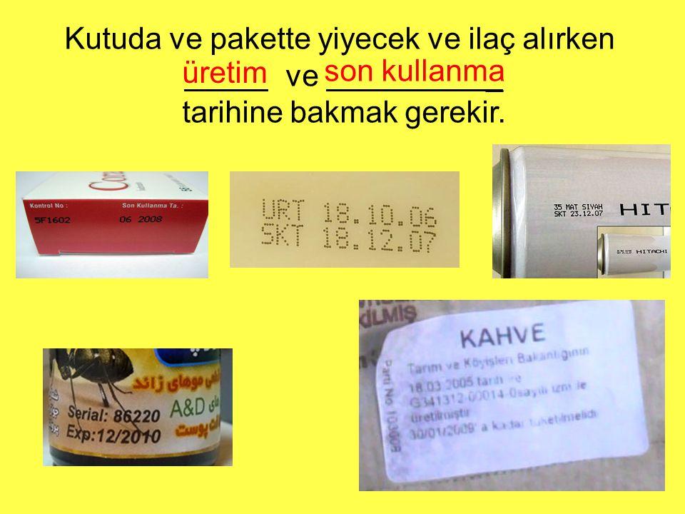 birim fiyatı : toplam tutarı : ürünün adı : miktarı : Bir fiyat etiketinden hangi bilgilere ulaşabiliriz? muz 6 TL 2 kg 3 TL