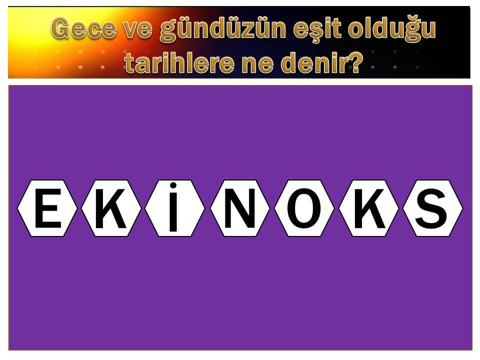E K İ NO KS