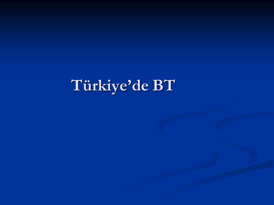 Türkiye'de BT