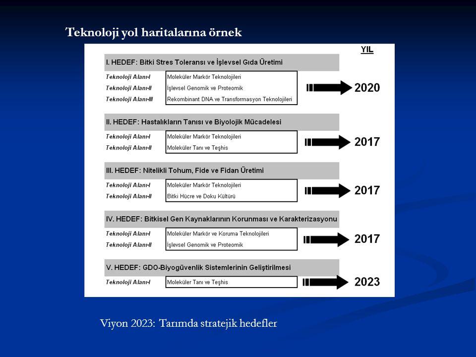 Viyon 2023: Tarımda stratejik hedefler Teknoloji yol haritalarına örnek