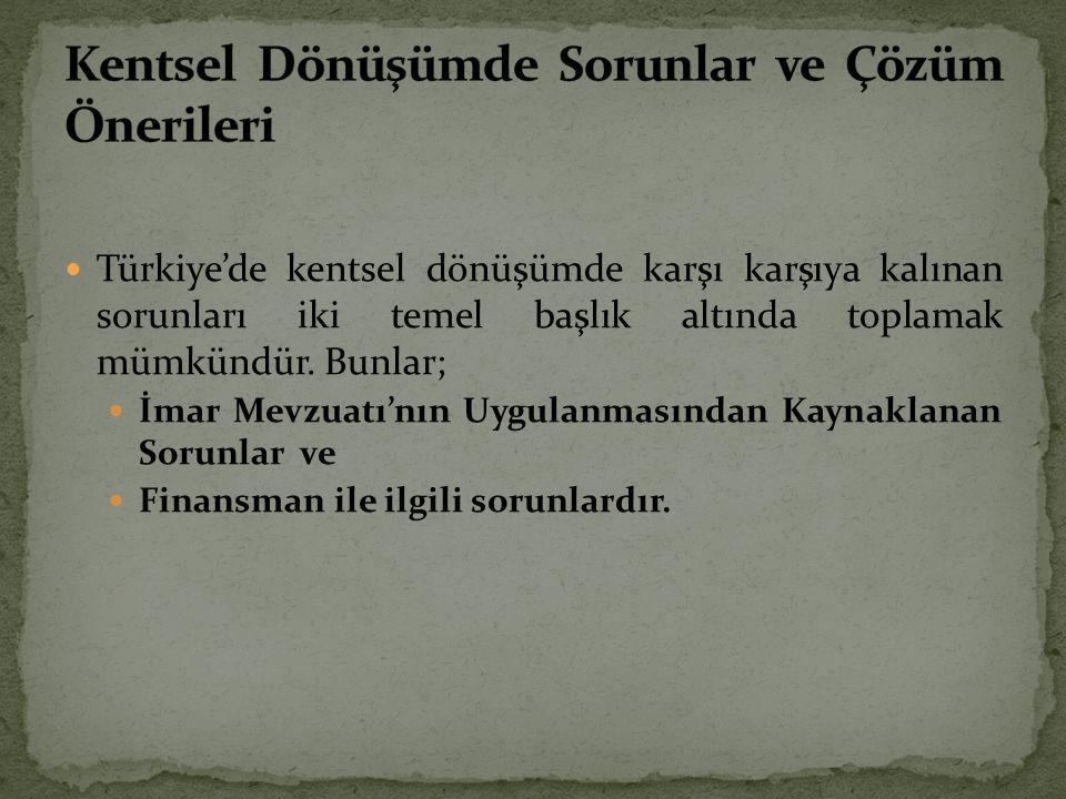 5216 Sayılı Yasa, tüm planlama yetkisini İstanbul Büyükşehir Belediyesi'ne vermiştir.