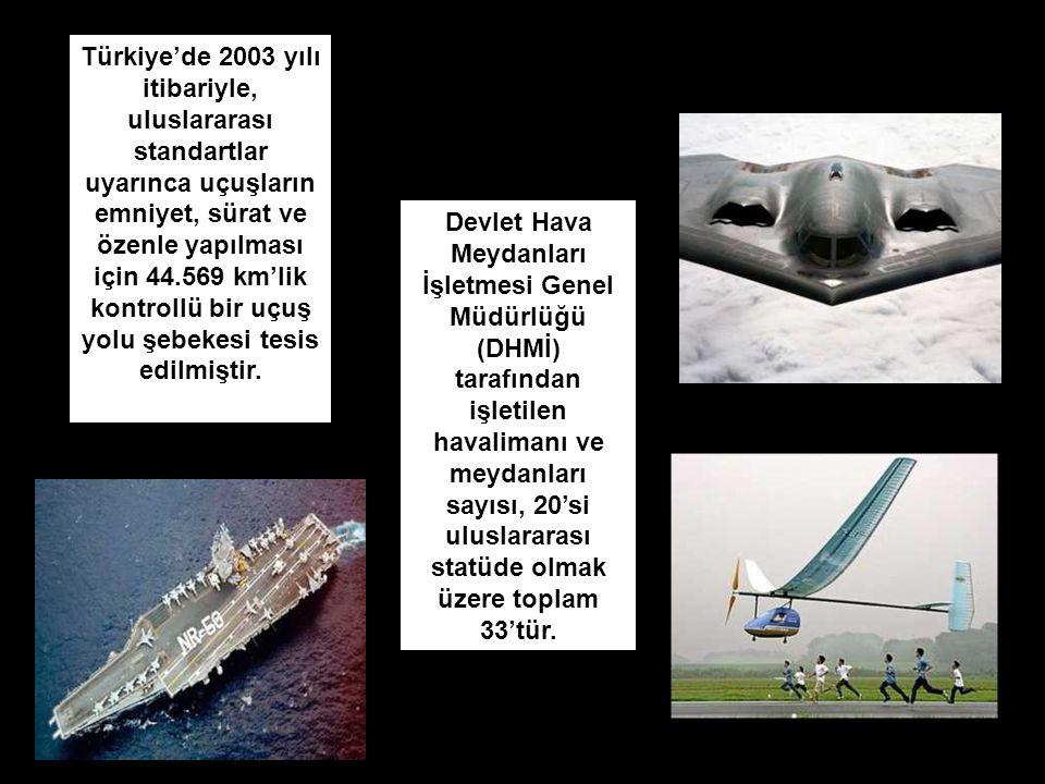 Devlet Hava Meydanları İşletmesi Genel Müdürlüğü (DHMİ) tarafından işletilen havalimanı ve meydanları sayısı, 20'si uluslararası statüde olmak üzere t