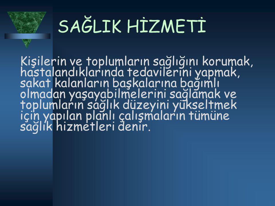 …  1924 yılında İstanbul ve Sivas'ta sağlık memurları okulları ile 1925'te İstanbul'da Kızılay Hemşirelik Okulu açılmış, tüm sağlık personelinin atama ve terfileri Sağlık Bakanlığı'nın yetkisine verilerek, sağlık personelinin yönetimi tek elde ve merkezde toplanmıştır.