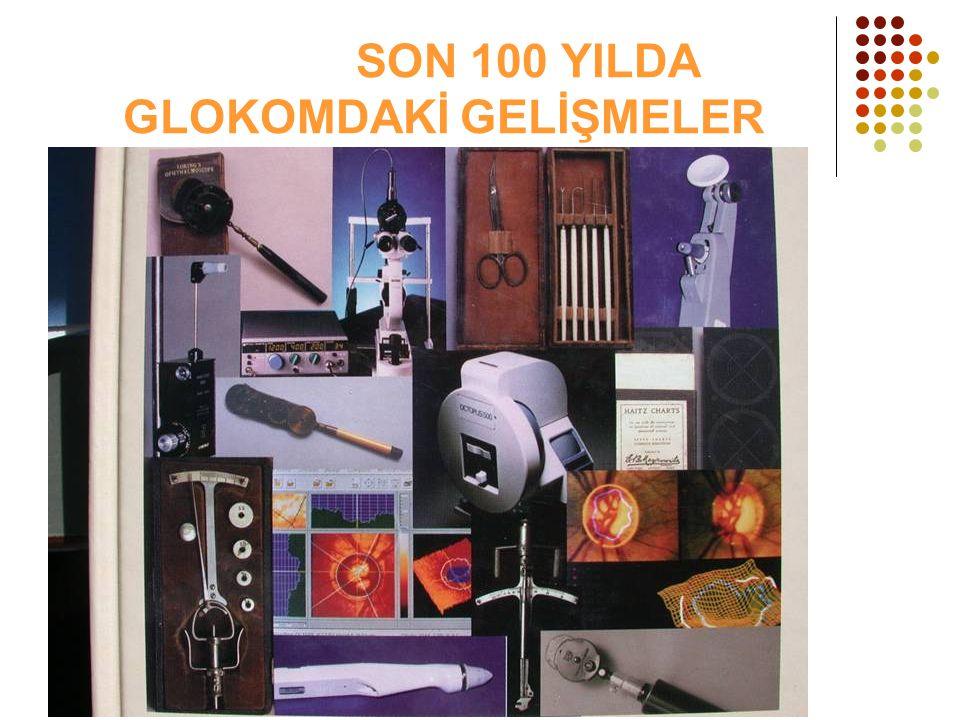 SON 100 YILDA GLOKOMDAKİ GELİŞMELER