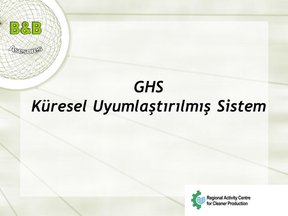 GHS Küresel Uyumlaştırılmış Sistem