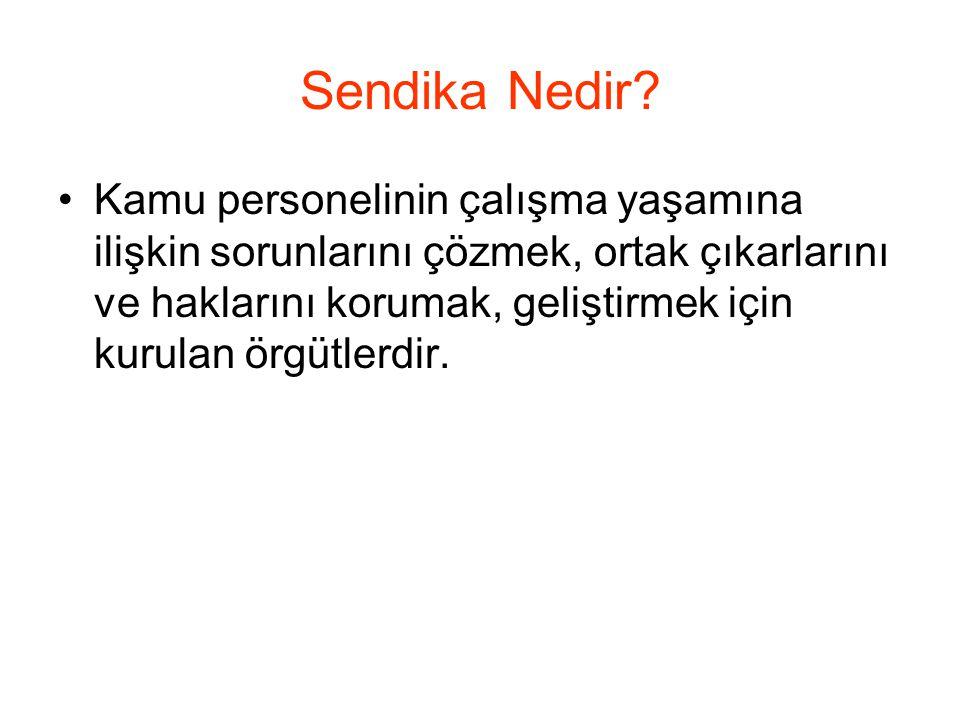 Türkiye'de Örgütlenme Hakkı Türkiye'de memurlara örgütlenme hakkı, işçilerden on beş yıl sonra 1961 Anayasası'yla verilmiştir.