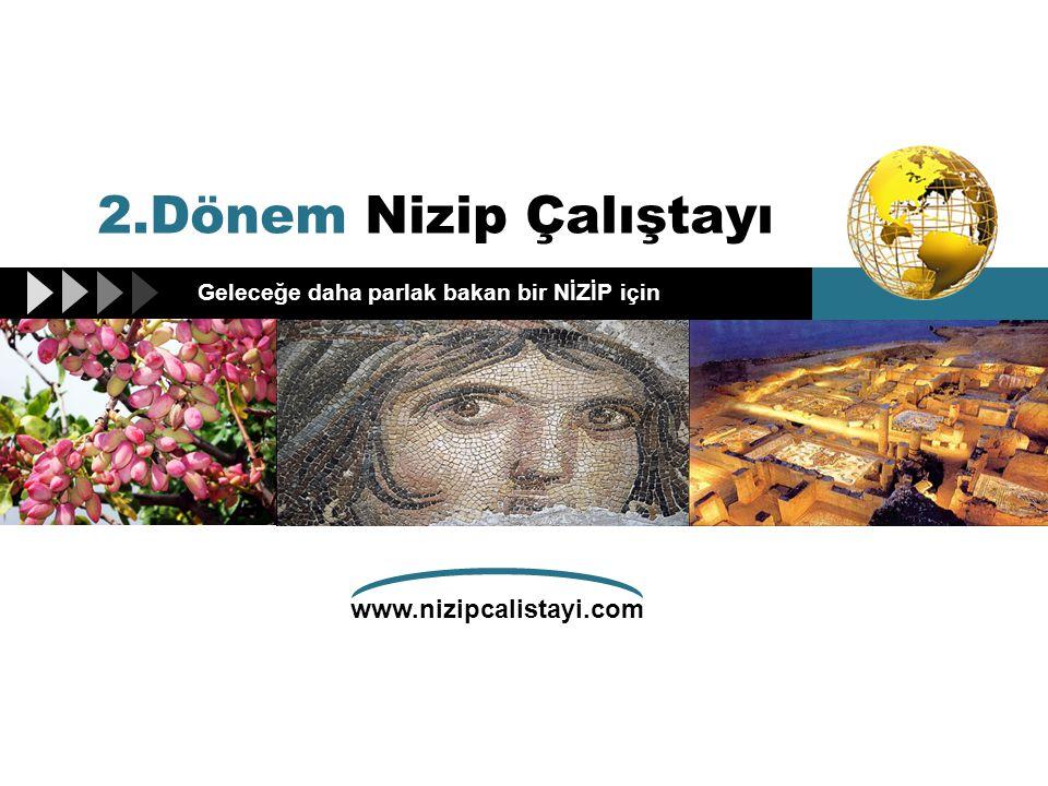 www.nizipcalistayi.com Geleceğe daha parlak bakan bir NİZİP için 2.Dönem Nizip Çalıştayı