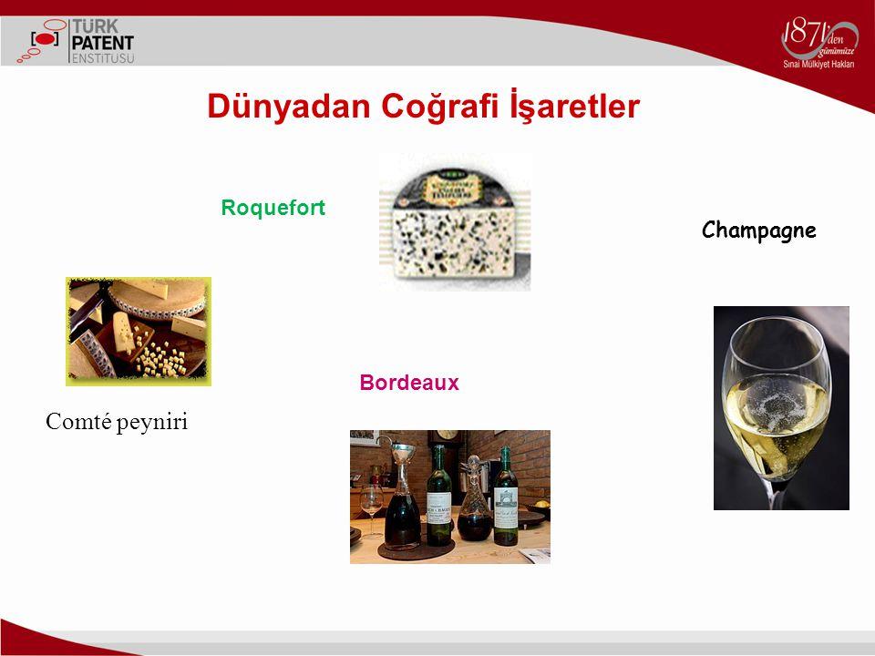 Comté peyniri Champagne Bordeaux Roquefort Dünyadan Coğrafi İşaretler