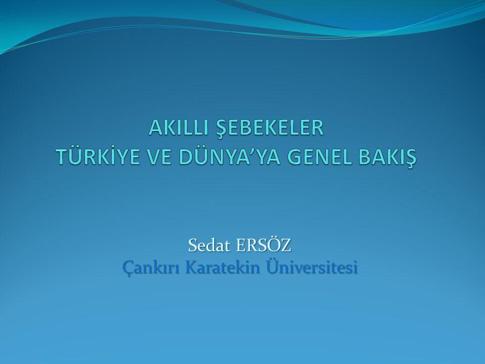 Sedat ERSÖZ Çankırı Karatekin Üniversitesi