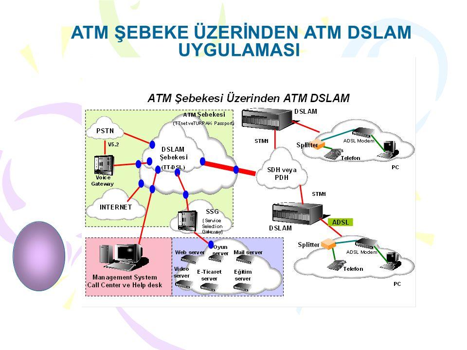 ATM ŞEBEKE ÜZERİNDEN ATM DSLAM UYGULAMASI