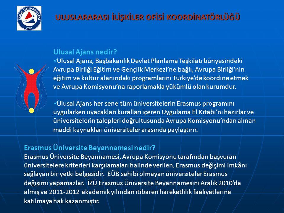 Ulusal Ajans nedir? Ulusal Ajans, Başbakanlık Devlet Planlama Teşkilatı bünyesindeki Avrupa Birliği Eğitim ve Gençlik Merkezi'ne bağlı, Avrupa Birliği