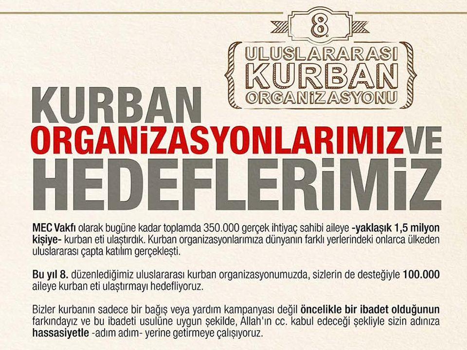 ADIM ADIM KURBAN ORGANiZASYONUMUZ