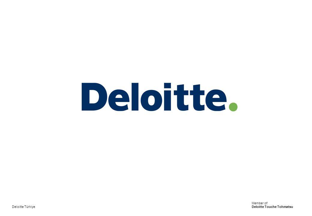 Deloitte Türkiye Member of Deloitte Touche Tohmatsu