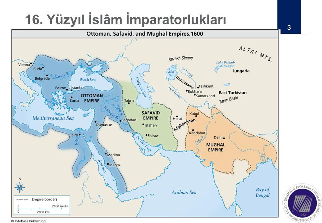 16. Yüzyıl İslâm İmparatorlukları 3