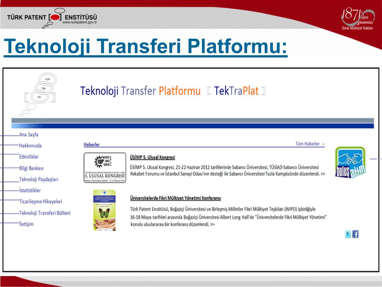 Teknoloji Transferi Platformu: