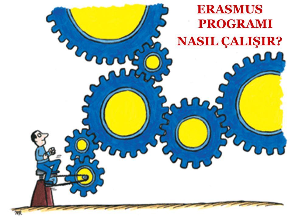 AVRUPA BİRLİĞİ KURUMLARI AVRUPA BİRLİĞİ NASIL ÇALIŞIR? ERASMUS PROGRAMI NASIL ÇALIŞIR?