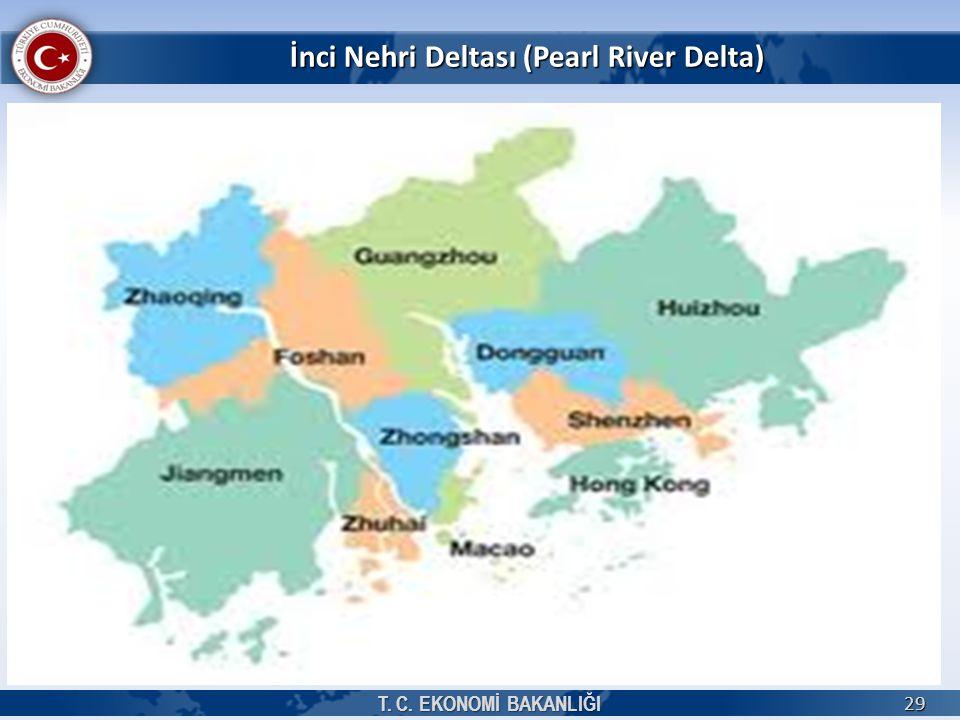 İnci Nehri Deltası (Pearl River Delta) T. C. EKONOMİ BAKANLIĞI 29