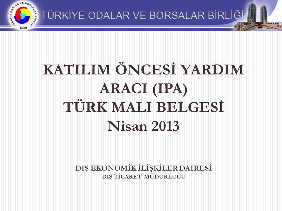 Türk Malı Belgesi Nedir.Neden İhtiyaç Duyuldu.