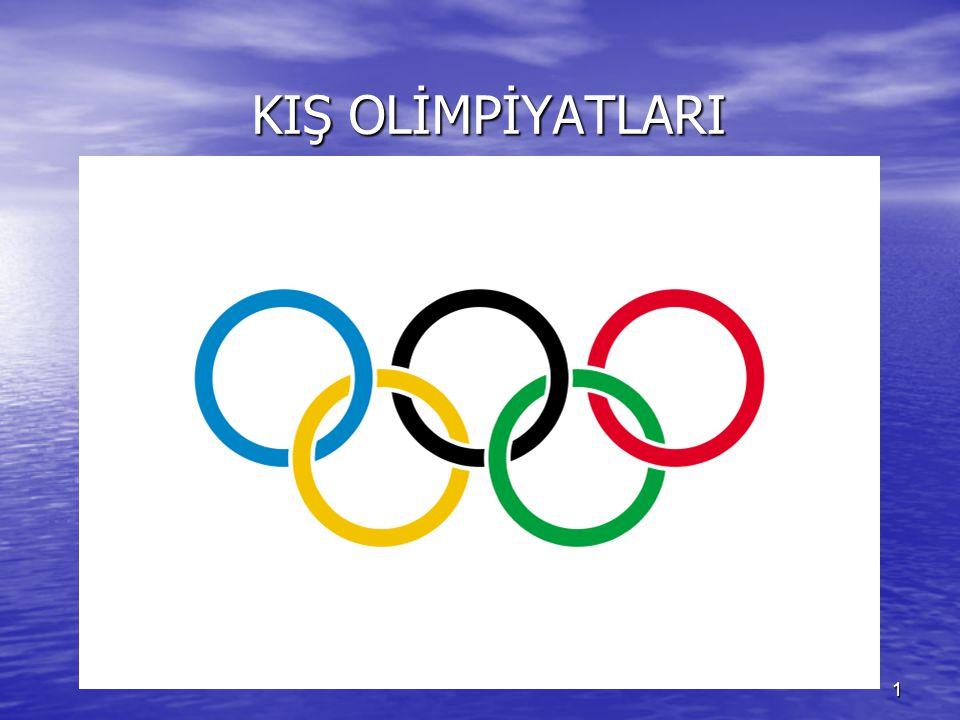2 Kış Olimpiyatları, Uluslararası Olimpiyat Komitesi (IOC) tarafından organize edilen ve 4 yılda bir önceden seçilen bir şehirde yapılan spor oyunları organizasyonudur.