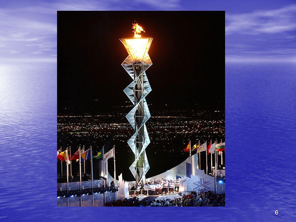 7 MODERN OLİMPİYATLARDA KIŞ OYUNLARI Modern Kış Olimpiyatları yaz olimpiyatlarından 28 yıl sonra Fransada başlatıldı.