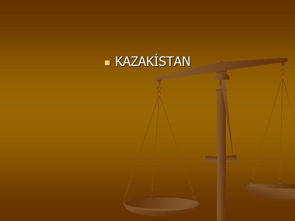 KAZAKİSTAN KAZAKİSTAN