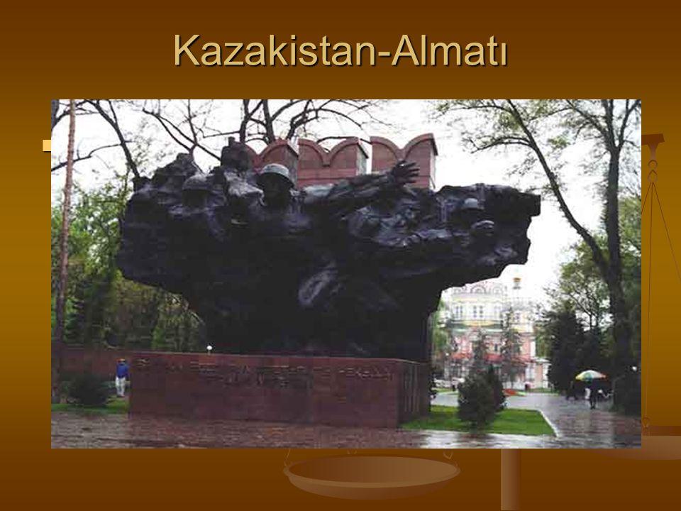 Kazakistan-Almatı