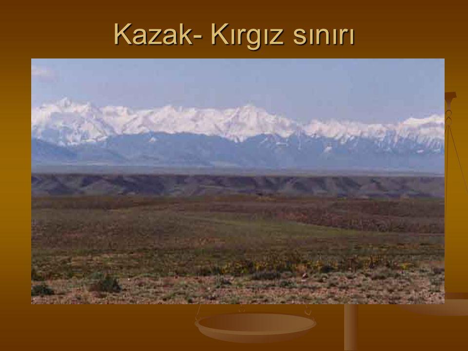 Kazak- Kırgız sınırı