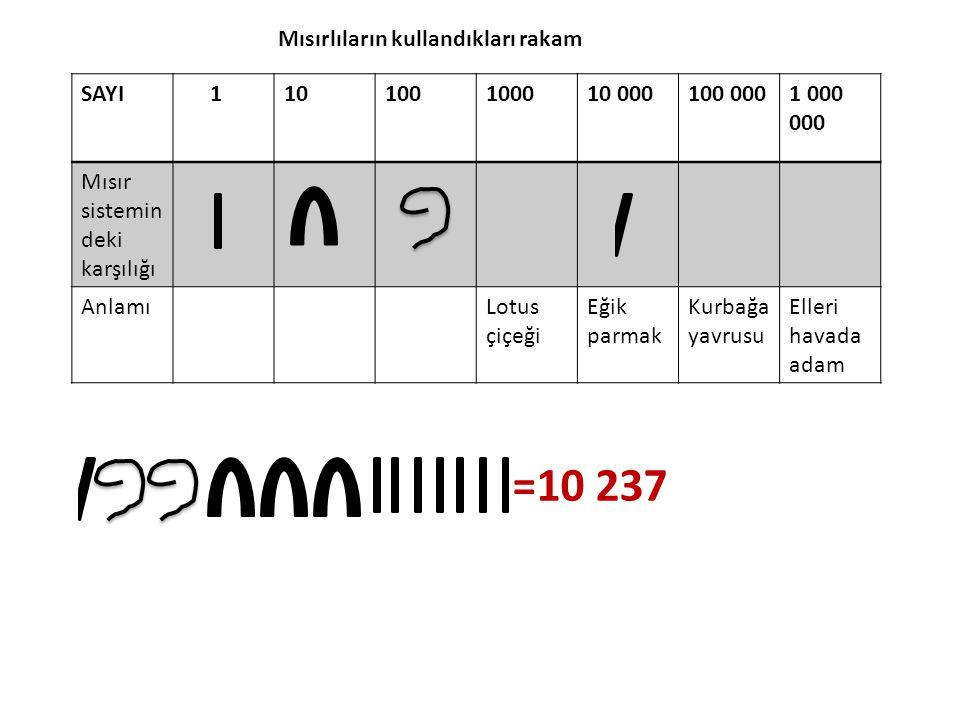 Sayı sistemleri, sayıların yazılışı ve okunuşu yönünden 3 ana grupta toplanır.