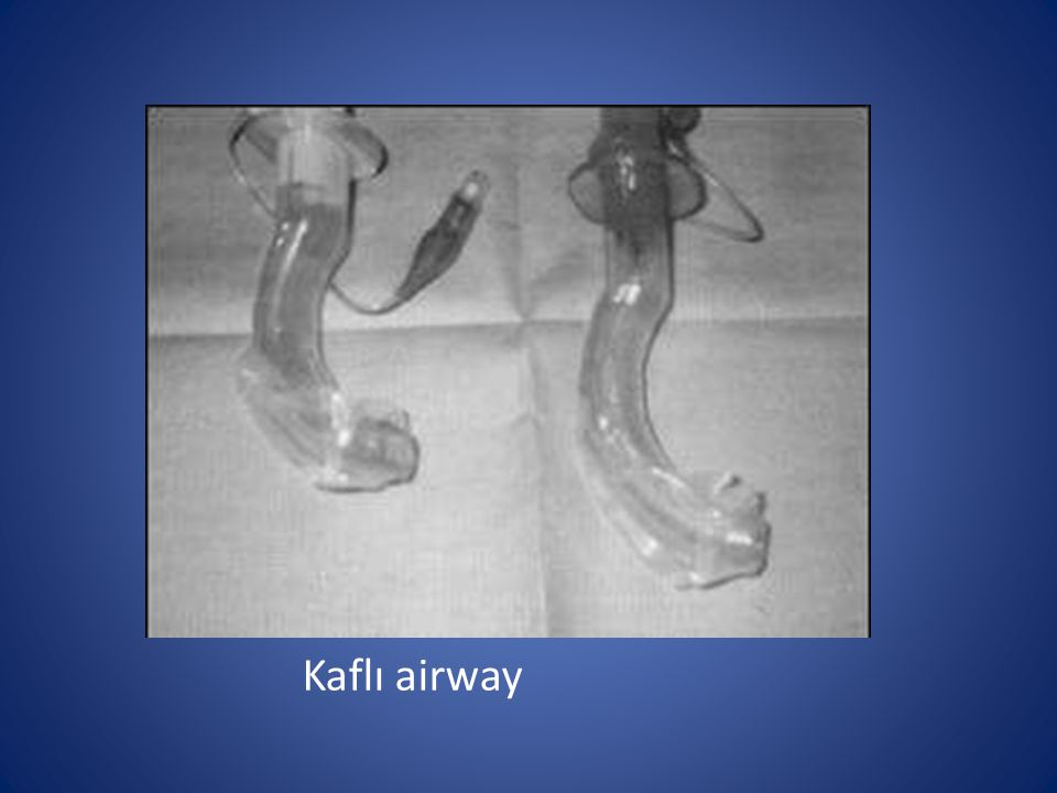 Kaflı airway