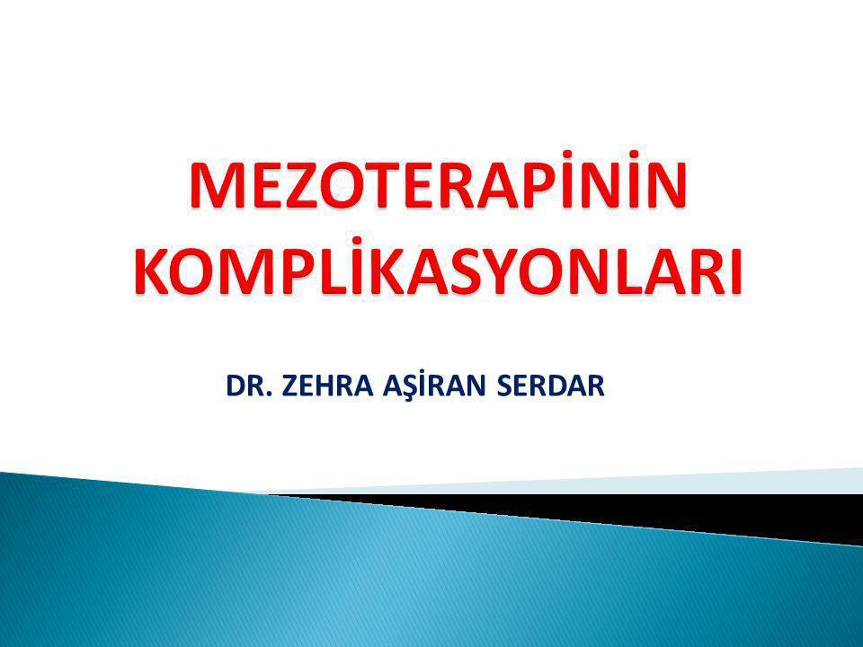 DR. ZEHRA AŞİRAN SERDAR