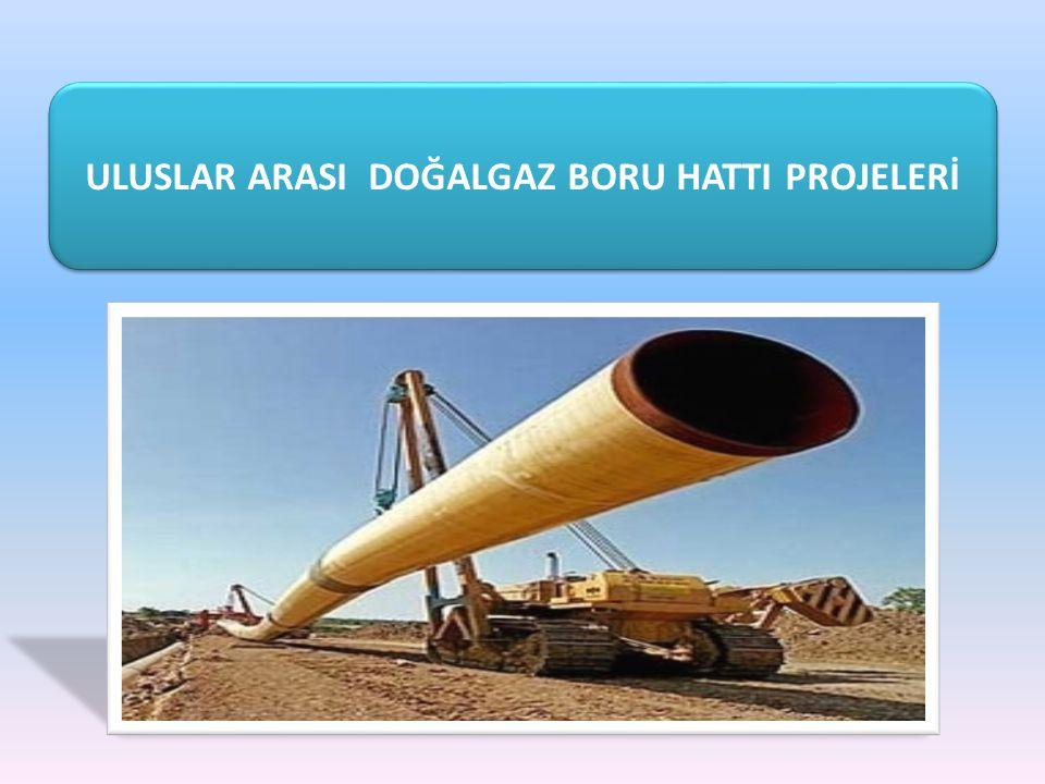 HAZAR GEÇİŞLİ TÜRKMENİSTAN - TÜRKİYE - AVRUPA DGBH PROJESİ Türkmenistan-Türkiye-Avrupa Doğal Gaz Boru Hattı Projesi ile Türkmenistan ın güney sahalarında üretilen doğal gazın bir boru hattı ile Türkiye ye ve Türkiye üzerinden Avrupa ya taşınması amaçlanmaktadır.
