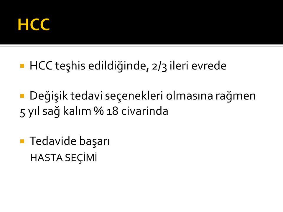  Konvansiyonel  DEB-TAKE ( DC bead, hepasfer )