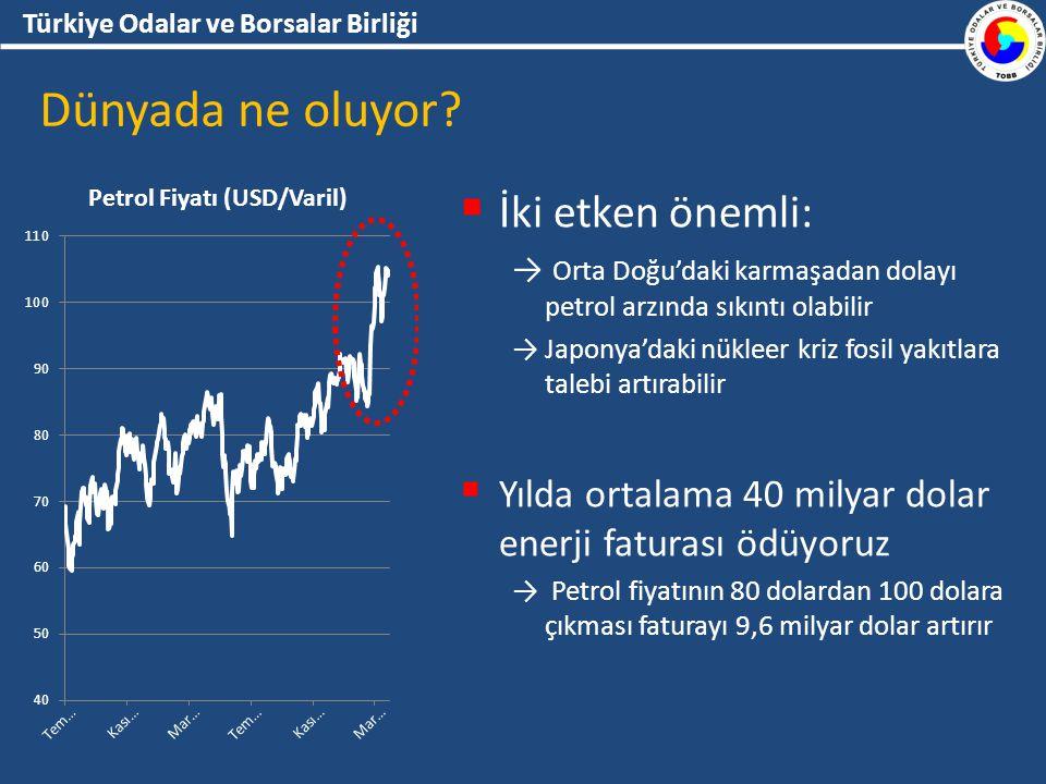 Türkiye Odalar ve Borsalar Birliği Dünyada ne oluyor.