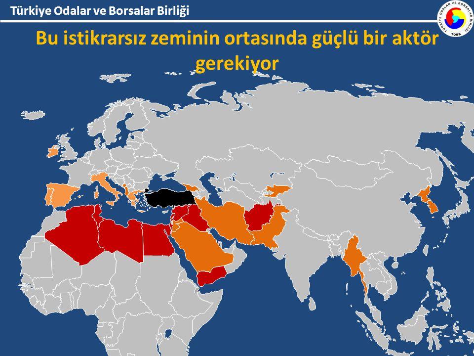 Türkiye Odalar ve Borsalar Birliği Bu istikrarsız zeminin ortasında güçlü bir aktör gerekiyor