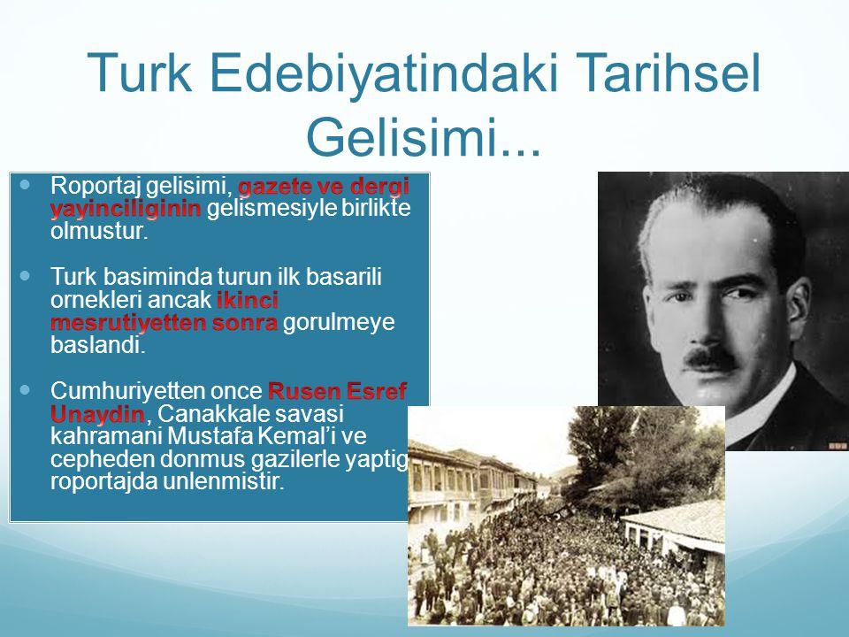Turk Edebiyatindaki Tarihsel Gelisimi...