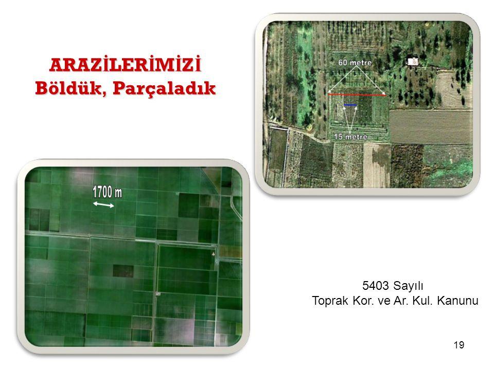18 Kaynak: Türkiye İ statistik Kurumu TÜ İ K Yıllı ğ ı 2013 NÜFUSUMUZ ARTARKEN b u ğ day ekim alanlarımız 1 3 yılda yakla ş ık 1.5 8 milyon ha azaldı