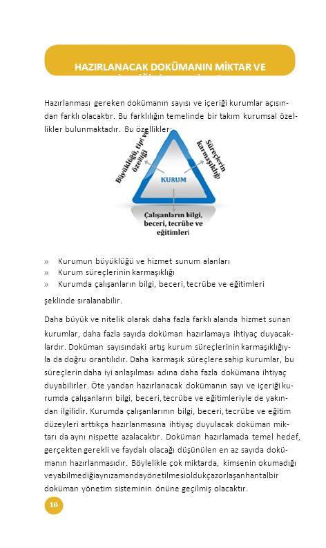 11Sağlıkta Kalite ve Akreditasyon Daire Başkanlığı DOKÜMANIN FORMATI NASIL OLMALIDIR.