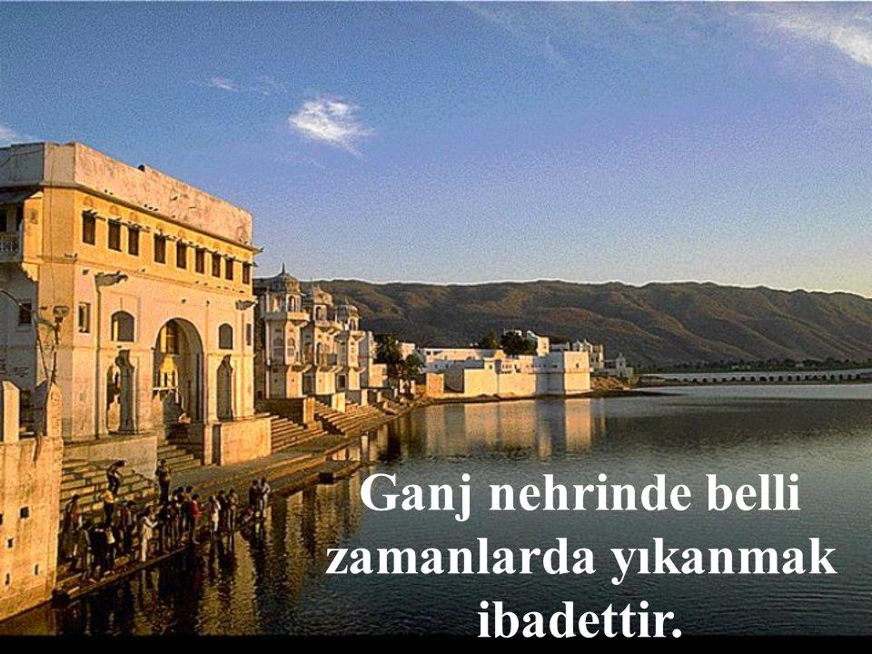 Ganj Nehri kutsaldır.